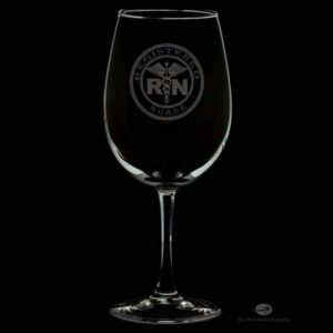 Nurse Personalized Wine Glass