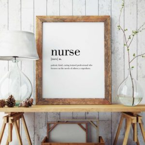 Nurse Printable Wall Art